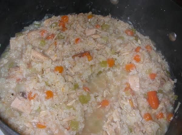 Low Fat Turkey Rice Soup Recipe