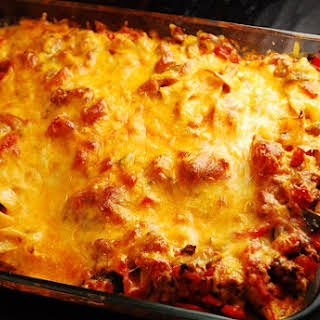 Ground Beef Cheddar Cheese Casserole Recipes.