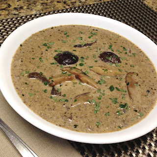 Cream of Wild Mushroom Soup Recipe