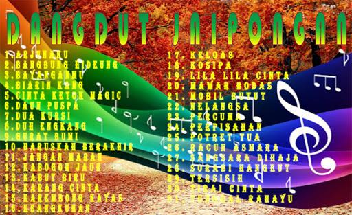 لقطات شاشة Lagu Jaipong Dangdut MP3 7
