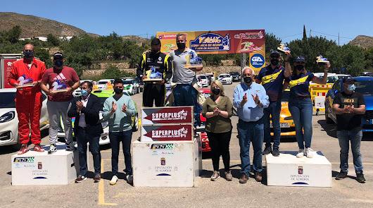 Alberto García logra  el triunfo en el I Rally Crono Comarca de Níjar