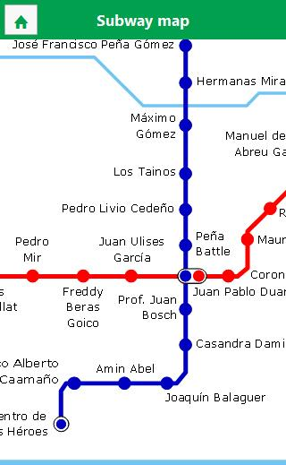 Santo Domingo Subway- screenshot