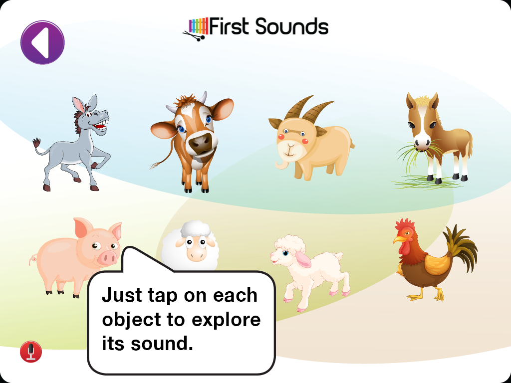 First Sounds- screenshot