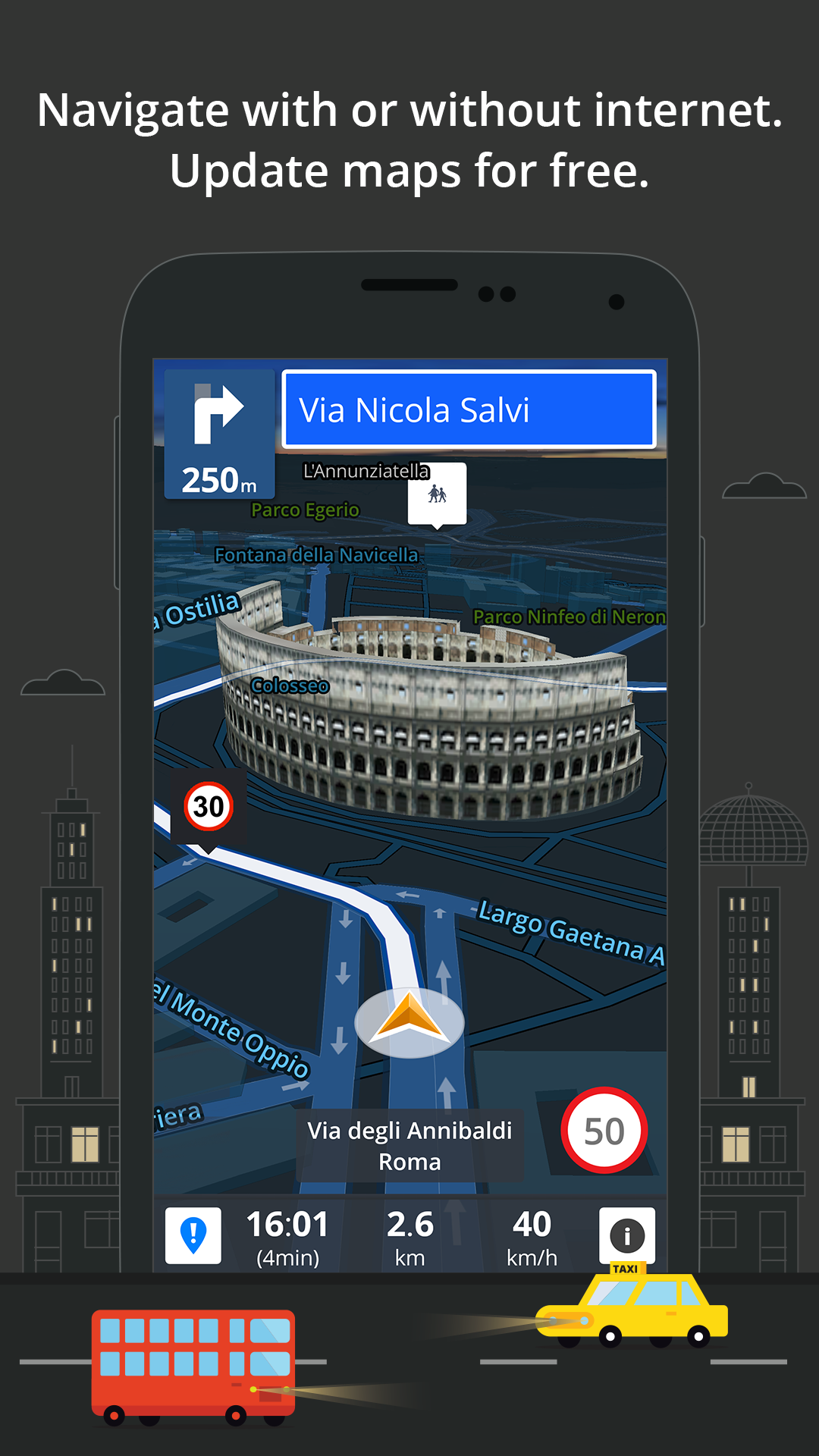 GPS Navigation & Maps Sygic screenshot #2