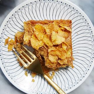 Brown Butter Corn Flake Cake.