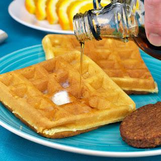 Quick And Crispy Waffles.