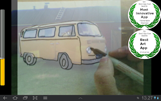 Screenshot of Artist's Eye Free