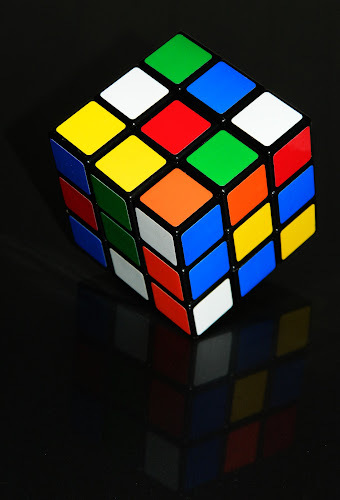 Rubik's Cube by SUBHAJIT PANJA - Artistic Objects Other Objects ( puzzle, rubik's cube, mechanical puzzle, artistic object, cube,  )