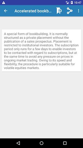 Screenshot 3 Economics Dictionary