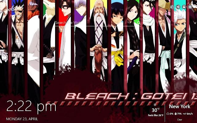 Bleach HD Wallpapers Anime New Tab Theme