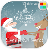 Santa & Reindeer for Xperia™