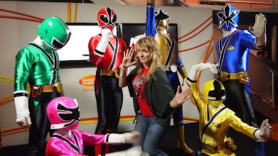 Photo: Yes, I am a Power Ranger!