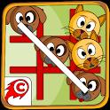 Cat Dog Toe 🐱🐶 - Tic Tac Toe Game ⭕️❌ icon