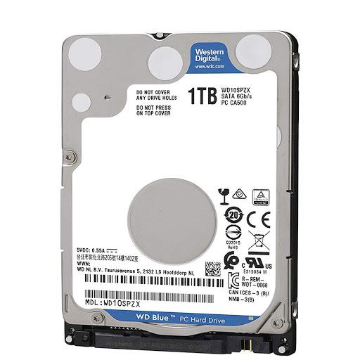 """Ổ cứng HDD Western Digital Blue  1TB 2.5"""" SATA 3 - WD10SPZX"""