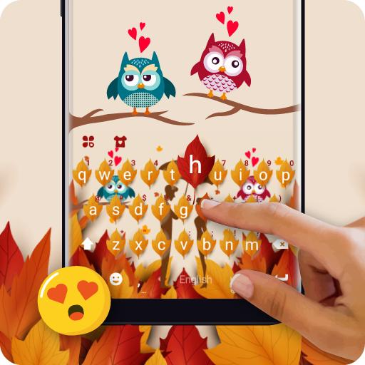 Romantic Autumn Keyboard Theme (app)