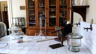 Photo: Curie Museum lab