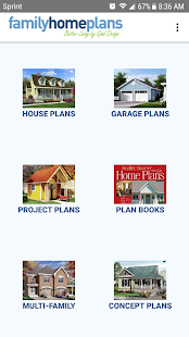 House and Garage Plans- screenshot thumbnail