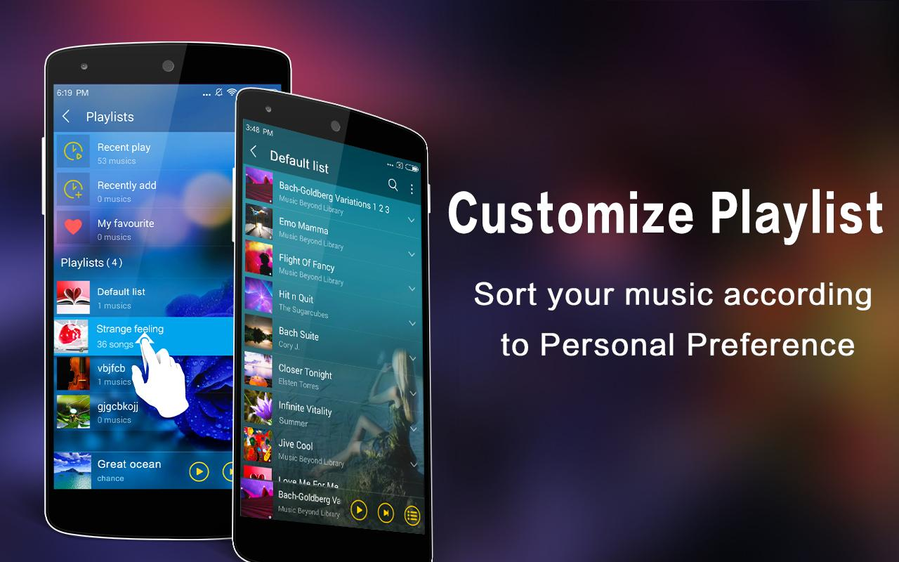 how to store music on google play