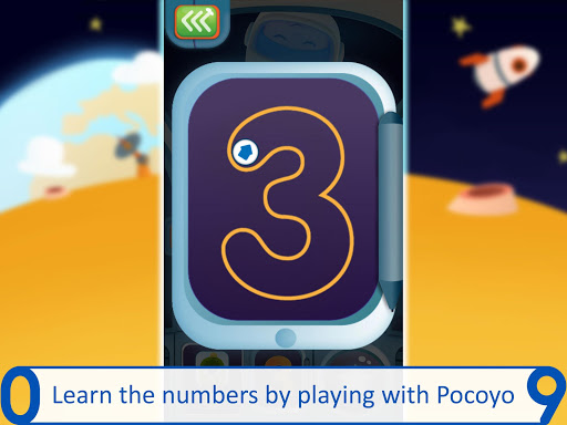 Pocoyo 1, 2, 3 Space Adventure: Discover the Stars apkpoly screenshots 11