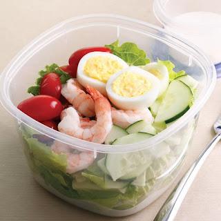 Shrimp Cobb Salad.
