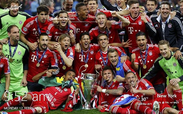 Bayern Munich HD Wallpapers New Tab Theme