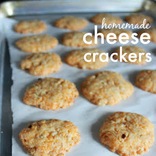 Cheese Crackers With Rice Krispies Recipes.