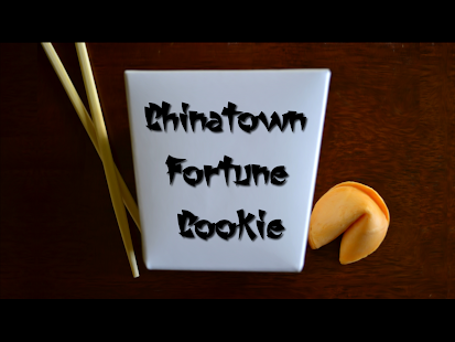 Chinatown Fortune Cookie -w/ Lucky Numbers - Free- screenshot thumbnail