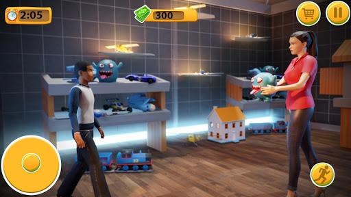 Virtual Mother Supermarket - Shopping Mall Games  screenshots 3