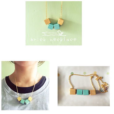 brick necklace(sold)