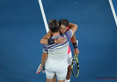 Rafael Nadal zwaaide met lof naar Dominic Thiem