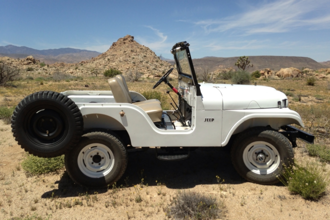 Willy's Jeep Hire CA