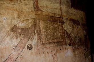 Photo: Year 2 Day 57 -  Wall Painting in Sulamani Guphaya Temple