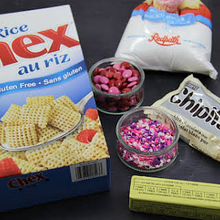 Valentine's Chex Mix.