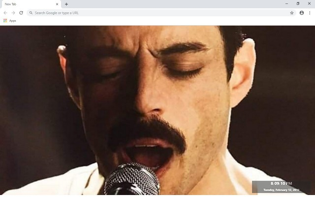 Bohemian Rhapsody New Tab Theme