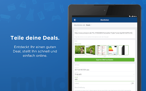 mydealz – Gutscheine & Deals- screenshot thumbnail