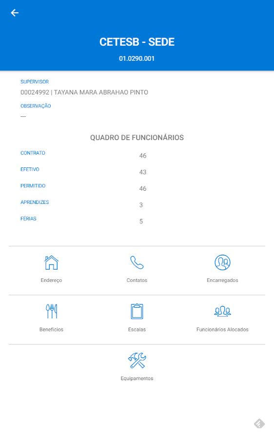 Portal Paineiras App- screenshot