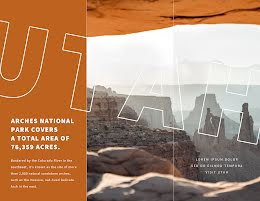 Arches National  - Travel Brochure item
