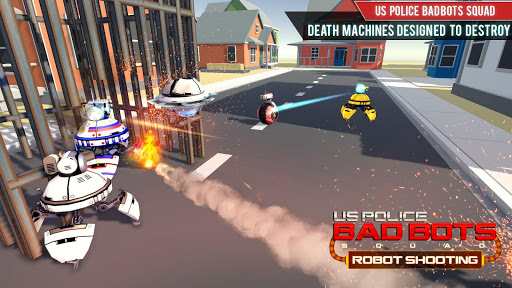 US Police Futuristic Robot Transform Shooting Game 2.0.4 screenshots 18