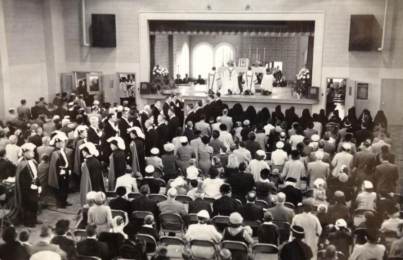 St. Charles School dedication – 1956