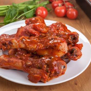 Slow Cooker Spicy Hot Chicken Legs.