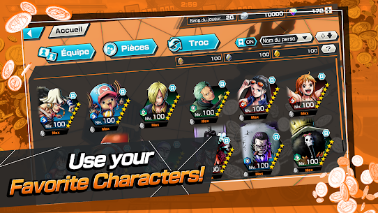 ONE PIECE Bounty Rush Mod Apk [No Skill CD + Dumb Enemy] 9