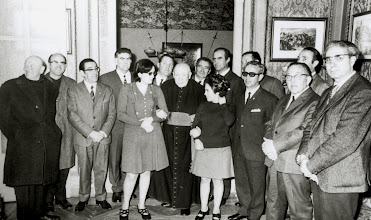 Photo: Kardinal baten bisita