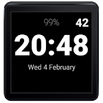 Everyday Digital Watch Face Icon