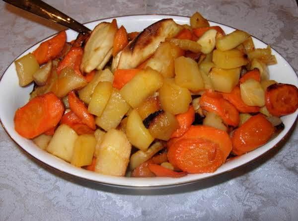 Honey Roasted Fall Vegetables