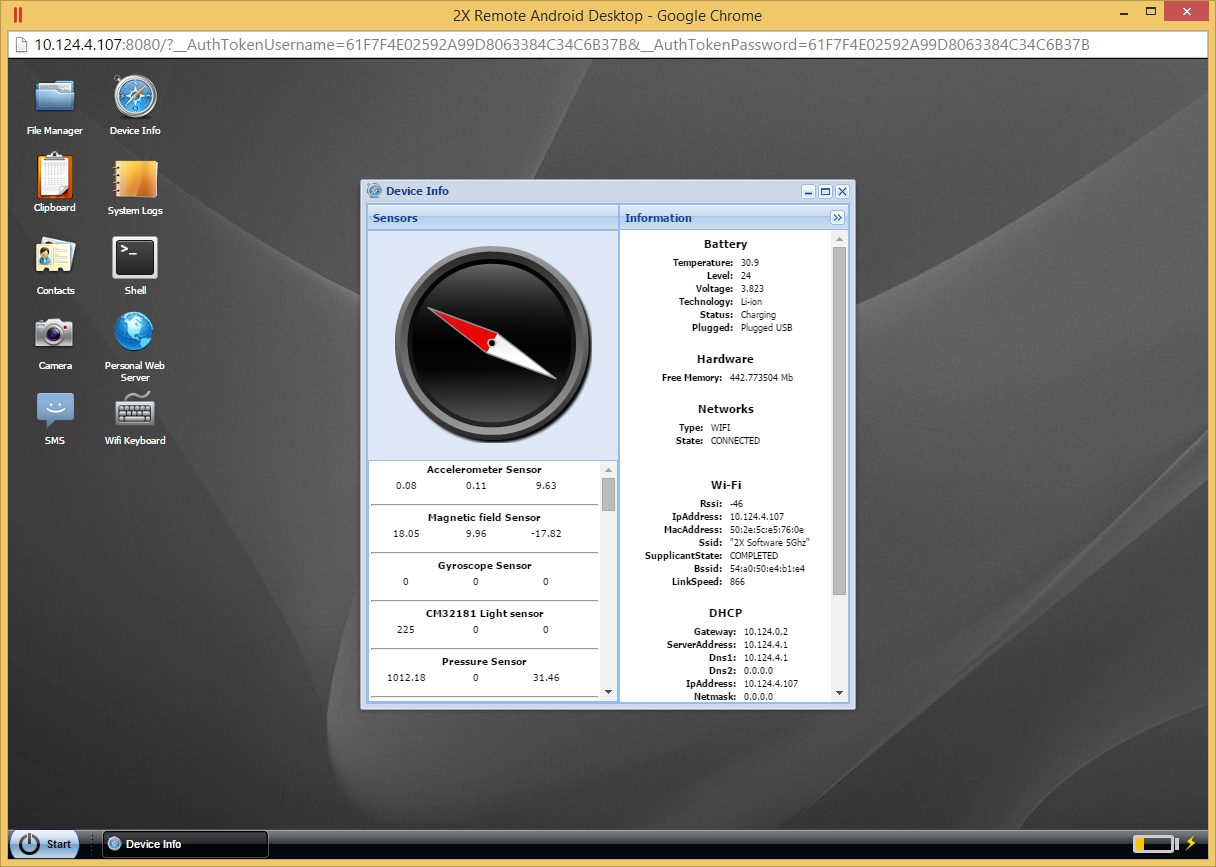 Parallels 2X MDM- screenshot
