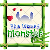 Blue Wizard Monster Theme&Emoji Keyboard