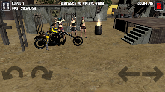 Motorcycle game Screenshot