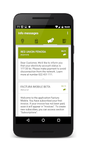 Factura Mobile- screenshot thumbnail