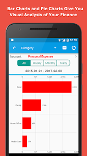 Expense Manager: miniatura de captura de pantalla