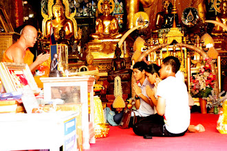 Photo: Day 336 - Taking Prayers with the Monk